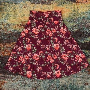 🐣 3 for $40 SALE LuLaRoe Azure floral maroon